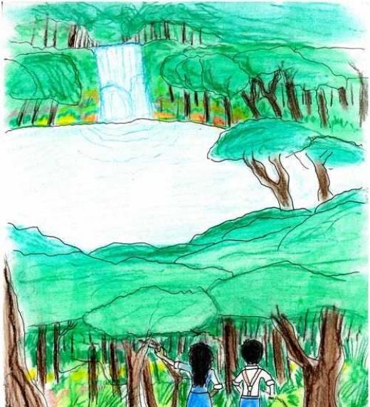 El orgullo hace  que Yamileth y Jacob se internen de noche en el bosque para ganar un desafío, pero descubren un lugar maravilloso que los cambiará para siempre.