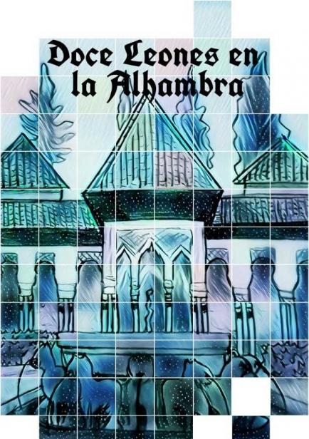 Doce Leones En La Alhambra  por Jorge García Díaz
