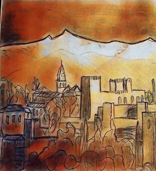 Ciudad amurallada edificada y mejorada por los tantos Sultanes.