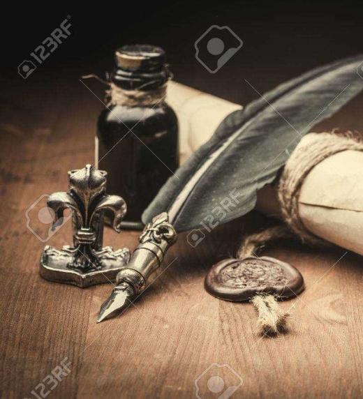 Con ellos se escribía en la antigüedad.