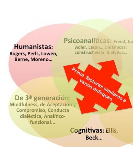 La metodología del libro prima el uso de factores contrastados por la mayoría de modelos psicoterapéuticos
