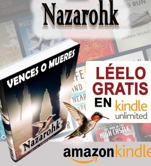 Puedes leer NAZAROHK si estás suscrito a Kindle Unlimited