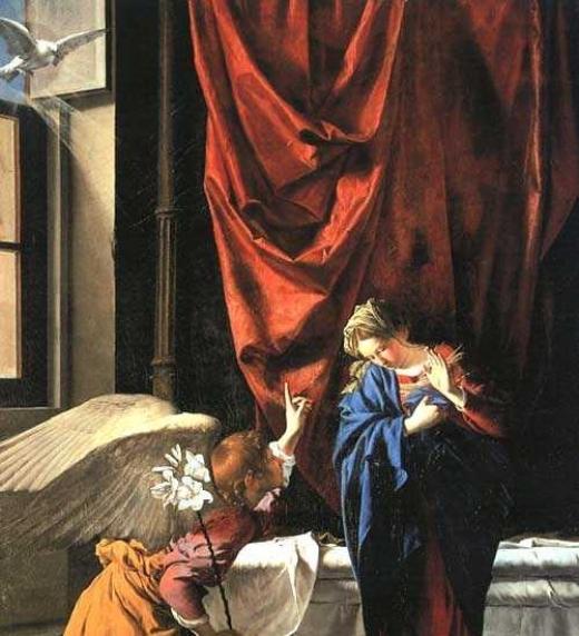 Anunciación del arcángel San Gabriel a la virgen María