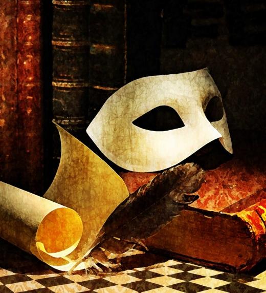 Enigmática máscara