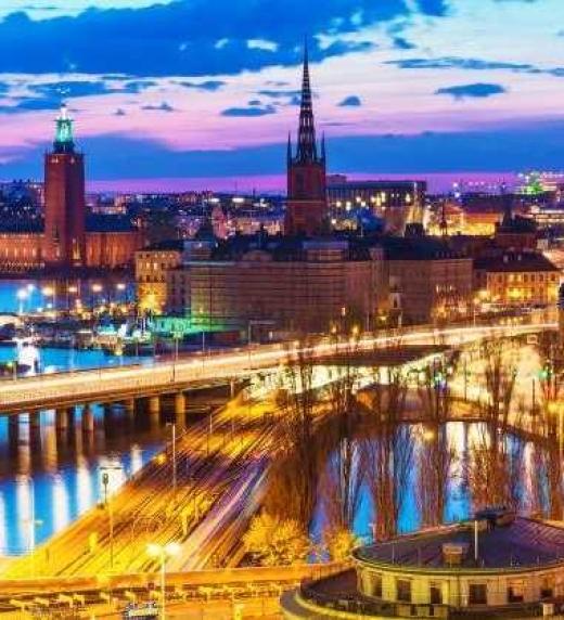 Estocolmo, Suecia. Lugar de residencia del escritor Carlos Decker Molina.