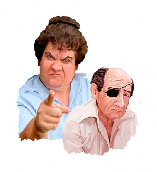 """Maruja y el señor Mora, los inquilinos del 3ºB. No te pierdas el inquietante libro """"Ellos nos quieren a todos"""", del autor malagueño Juan José Díaz Téllez."""