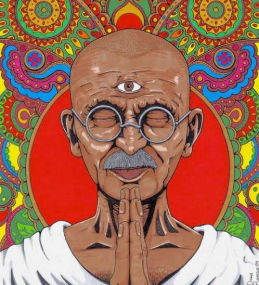 Mahatma Ghandi, símbolo del equilibrio espiritual