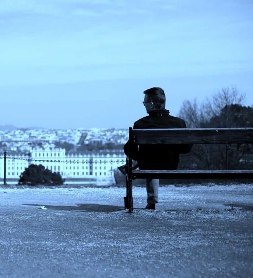 Hombre solitario; Leonardo Levi