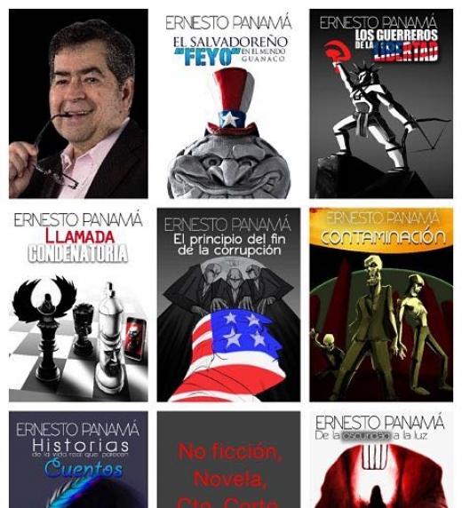 Diseño de portadas de: Oscar KEIN Cornejo