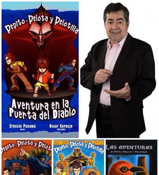La serie de cuentos: Las aventuras de Pepito, Pelota y Pelotilla ha comenzado y su objetivo es hacer de los niños los lectores de futuro.