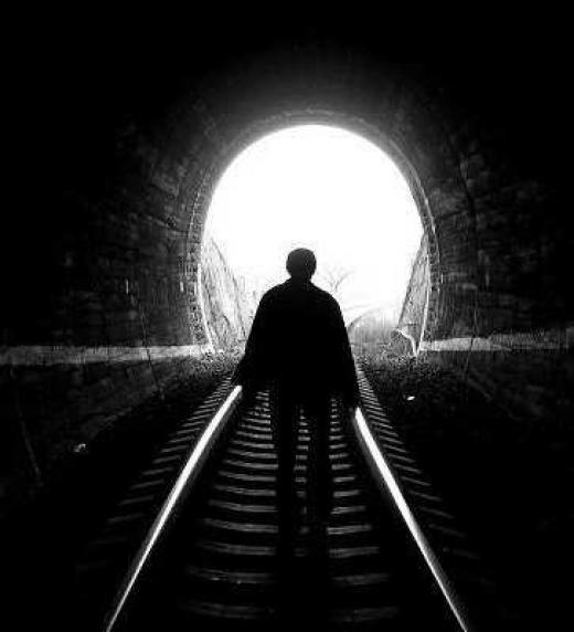 La luz del túnel que marca el final de la vida