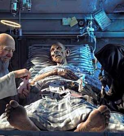 La vida y la muerte se debaten por nuestras almas