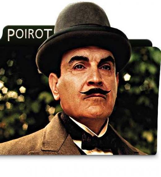Hércules Poirot, uno de los personajes más queridos de Agatha Christie; protagonista de 33 novelas y 50 relatos cortos publicados entre 1920 y 1975 por la autora.
