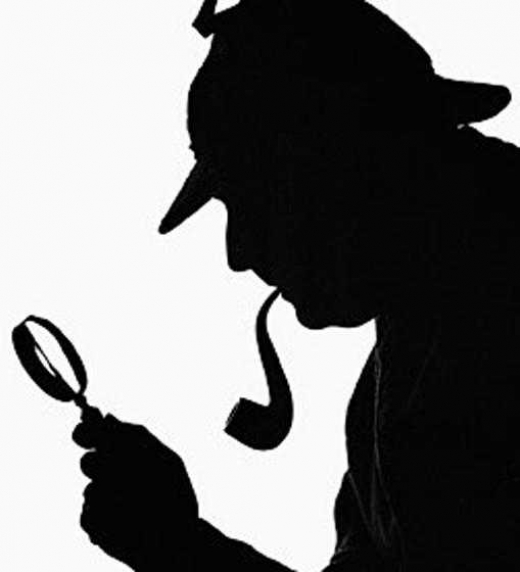 Silueta Sherlock Holmes
