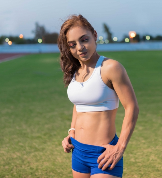 Sonia Varela autor del libro fitness vegano.