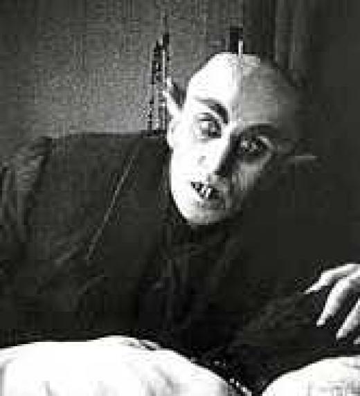 Nosferatu, la primera historia de un vampiro recreada en el cine.