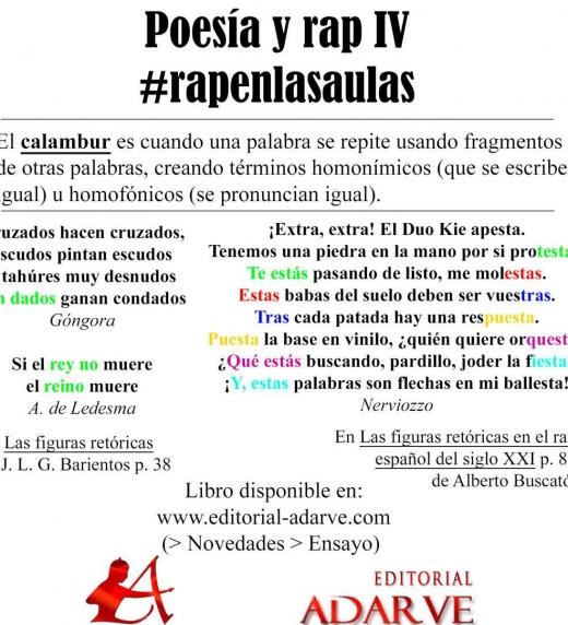 Ejemplos de figuras retóricas en el rap español