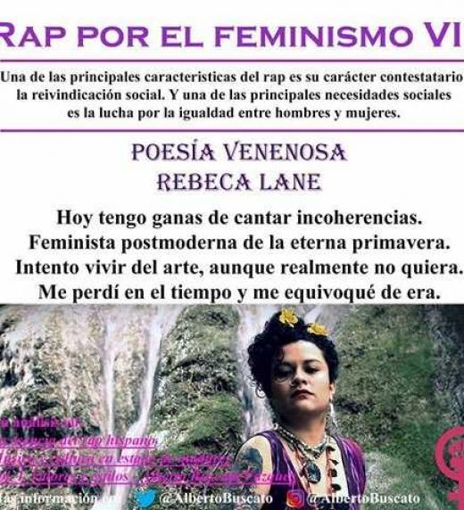 Poesía y rap feminista