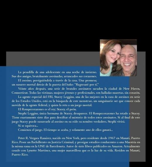 Descripción detallada de mi libro Susurros Mortales