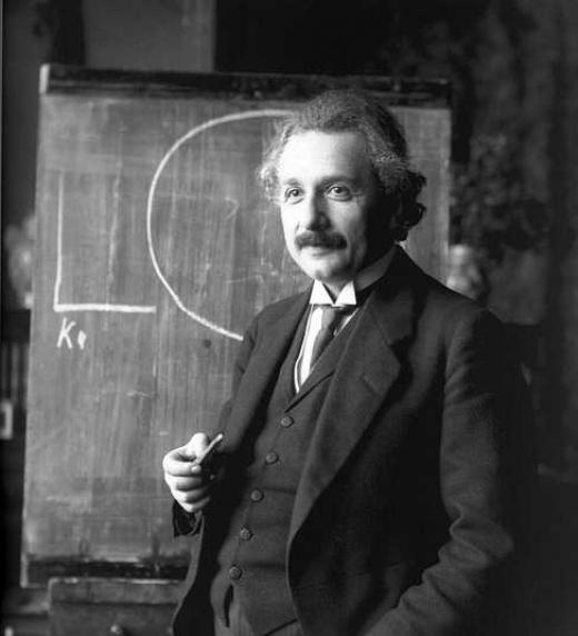 Parodia de la gira promocional que Albert Einstein dio en su día.