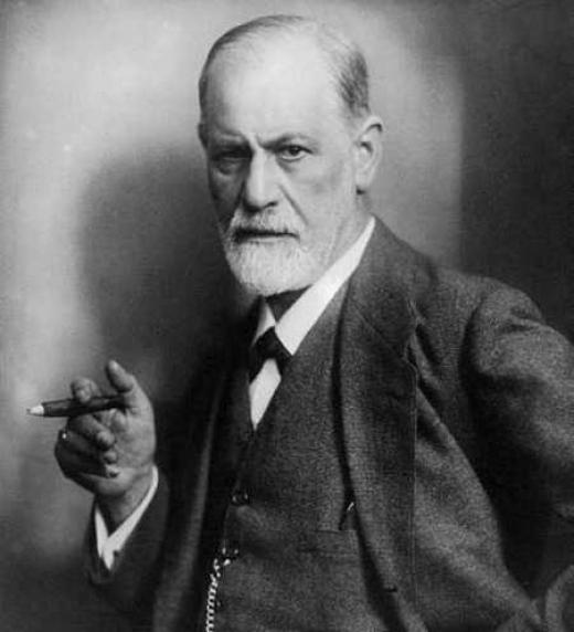 Parodia de una sesión de psicoanálisis de Sigmund Freud.