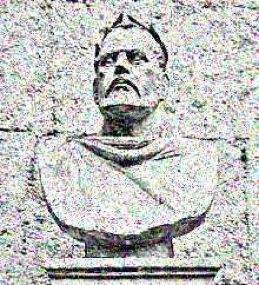 Busto del emperador romano Valerio Diocleciano