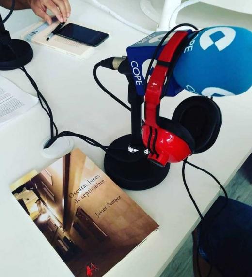 Entrevista radial a Javier Samper en la COPE de Villena.