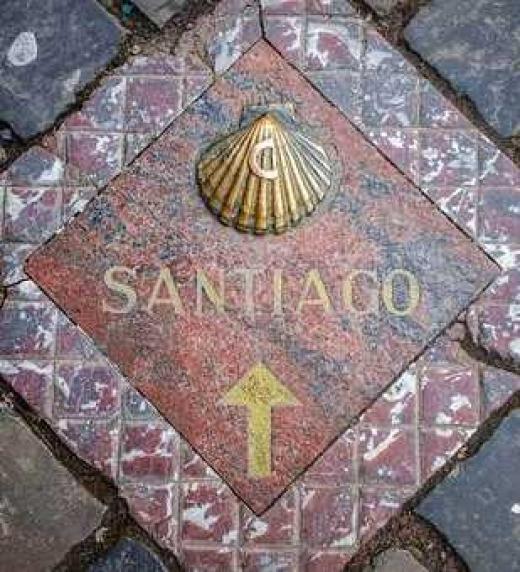 ´Símbolos en el Camino de Santiago