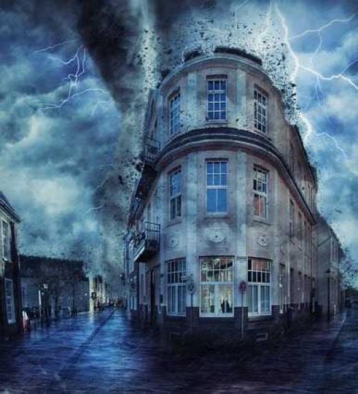 La capital Argentina ha sido destruida a causa de las fuertes lluvias creando una Neurosis colectiva