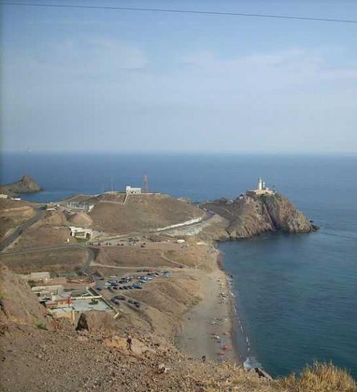 Imagen del cabo de Gata (Andalucía)
