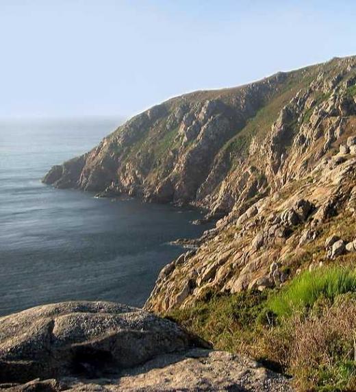 Imagen del cabo de Finisterre (Galicia)