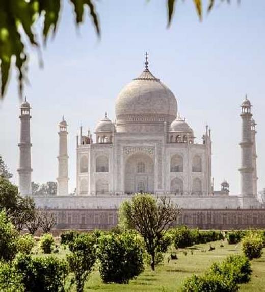 El Taj Mahal es un emblema de la opulencia india