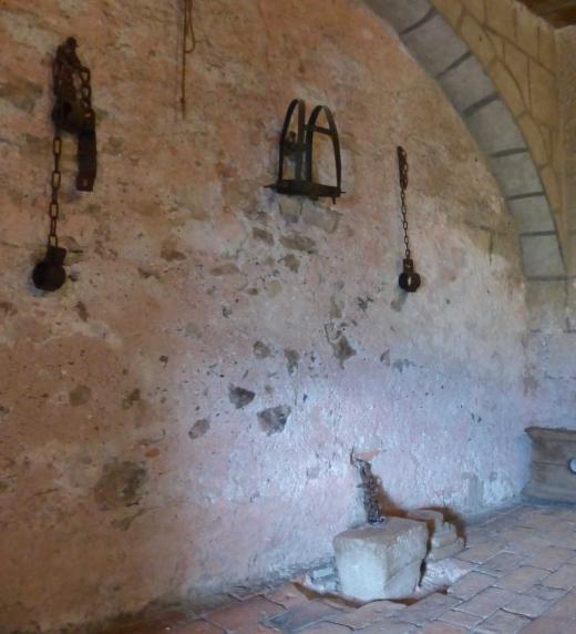 Vista de una sala de tortura