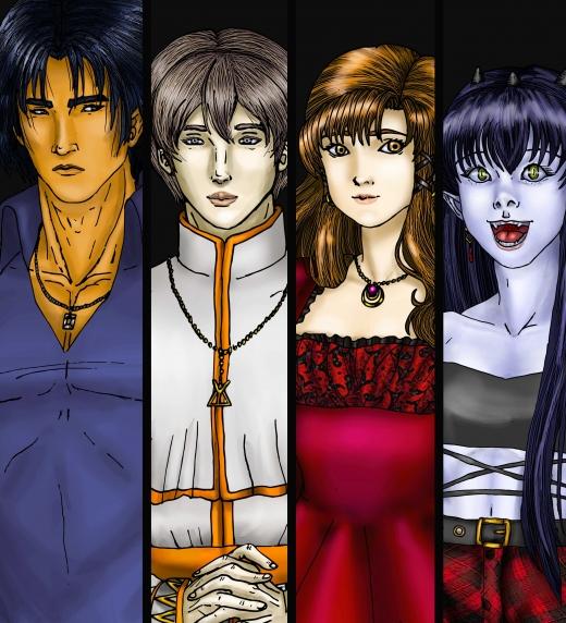 Personajes de Noctis.