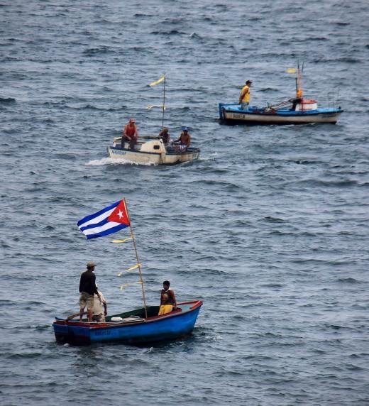 Mucha gente, sobre todo en los pueblos, vive de la pesca