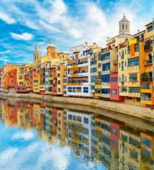Fotografía de Girona, Cataluña (España).