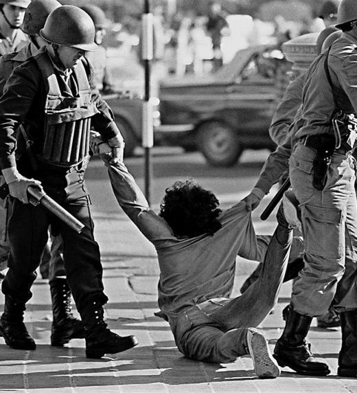 La represión durante la dictadura militar argentina de Rafael Videla
