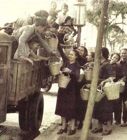 El hambre durante la posguerra española