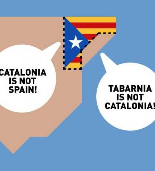 Tabarnia estaría conformada por Barcelona, Tarragona y los alrededores, en oposición al separatismo catalán.