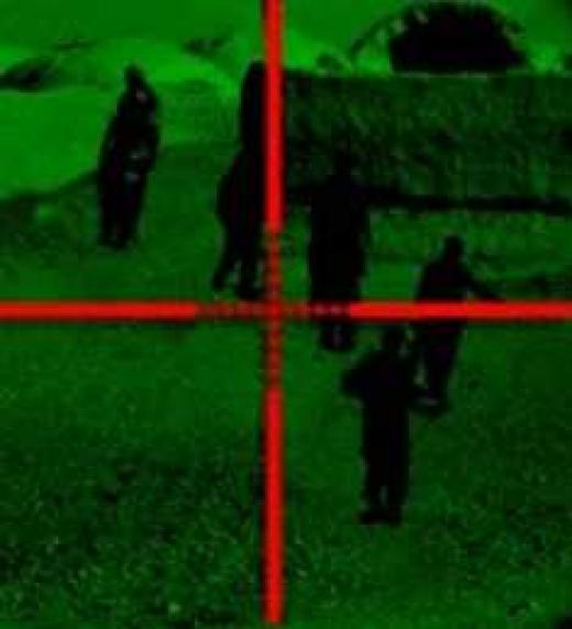 Defensa del risco frente a una avanzadilla de reconocimiento enemiga.