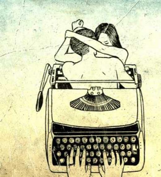 """La poesía es creativa; """"da vida y también la quita""""."""