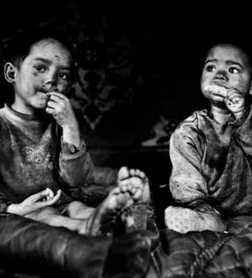 El hambre, el abuso infantil, miserias humanas