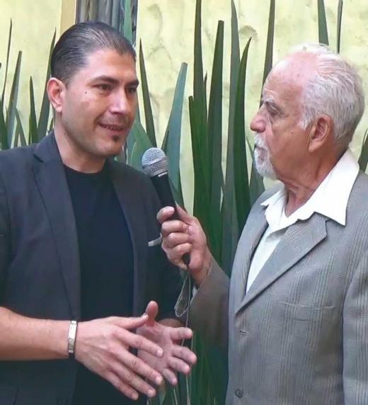 Entrevista a Ubaldo Díaz por Ramón Guajar Pérez. México.
