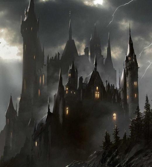 El castillo negro de Ianad