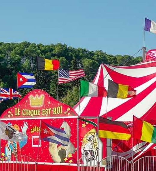 Un circo ambulante ha llegado a Ciudad Victoriana