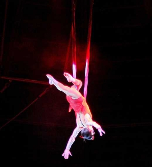 La trapecista Amanda Wolfwinter ha desaparecido