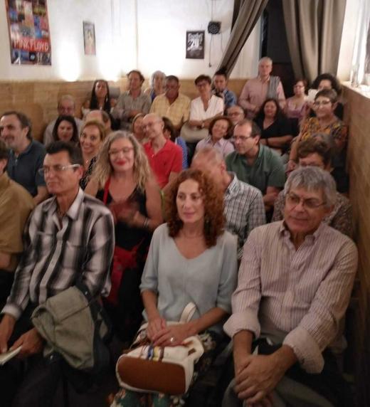 Público en la presentación
