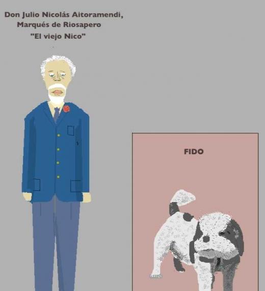 Personajes de la novela