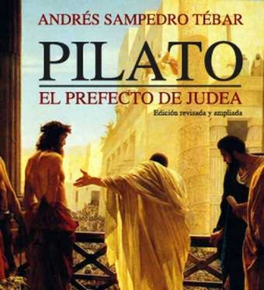 Portada Pilato, el Prefecto de Judea (Donbuk Editorial)