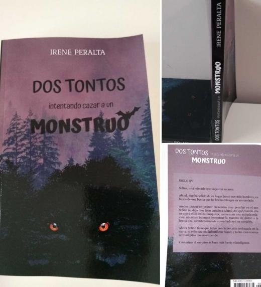 Imágenes libro en papel Dos Tontos intentando cazar a un Mostruo.